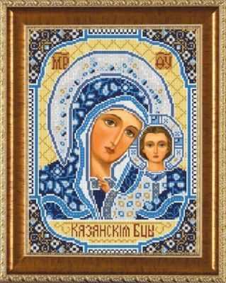 Бис 1202 Богородица Казанская - Рисунки на ткани Nova Sloboda