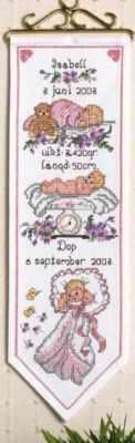 Набор для вышивания Anchor 9240005-03304 На рождение девочки