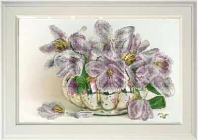 Набор для вышивания Краса и Творчество 11017 Цветы 16