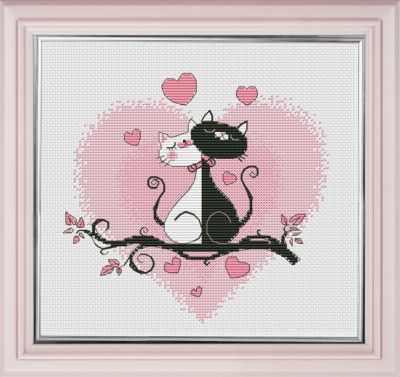 Набор для вышивания Овен 1021 Это любовь!