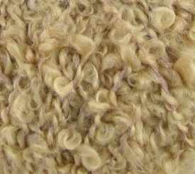 Буклированная Цвет.124 Песочный - Пряжа «Пехорка»