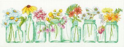 35310 DMS Цветы в баночках