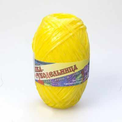 Пряжа Хозяюшка-рукодельница Пряжа Хозяюшка-рукодельница Для души и душа Цвет. Желтый текстильная ваза рукодельница 20х20