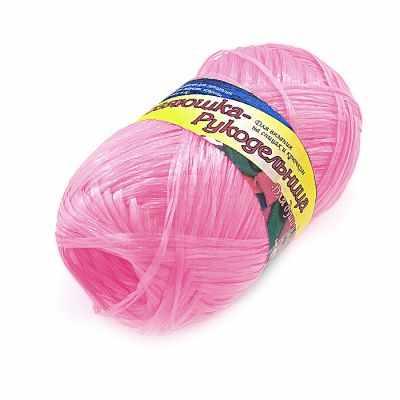 Пряжа Хозяюшка-рукодельница Пряжа Хозяюшка-рукодельница Для души и душа Цвет. Фламинго текстильная ваза рукодельница 20х20