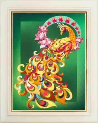 Набор для вышивания Картины бисером R-010 Птица счастья - набор для вышивания