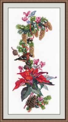 Набор для вышивания Овен 1016 Рождественская звезда