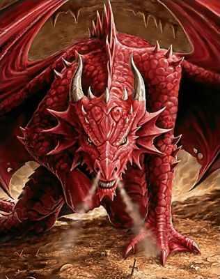 Ag141 Ярость дракона - мозаика