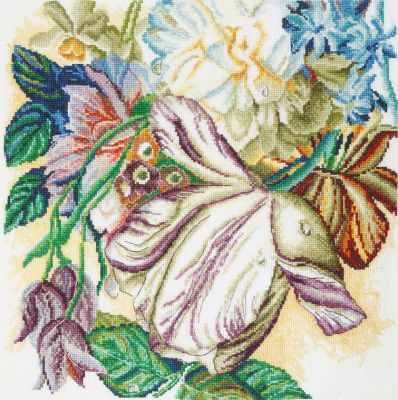 Фото - Набор для вышивания Марья искусница 04.002.05 Пестрый тюльпан набор для вышивания марья искусница 16 001 04 дубовые листья