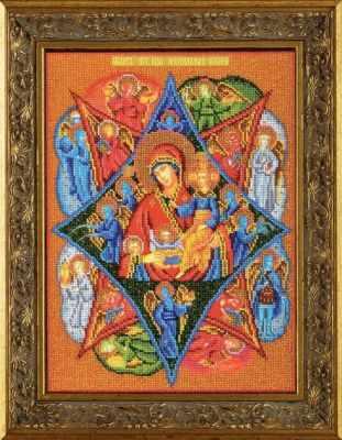 B-474 Неопалимая Купина - Наборы для вышивания икон «Кроше»