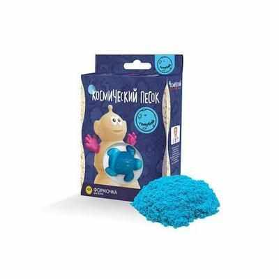 KP015B Игрушки в наборе ТМ Космический песок, голубой