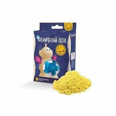 KP015Y Игрушки в наборе ТМ Космический песок, желтый