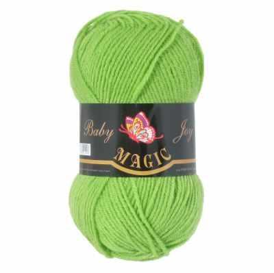 Пряжа Magic Пряжа Magic Baby Joy Цвет.5705 Зеленый