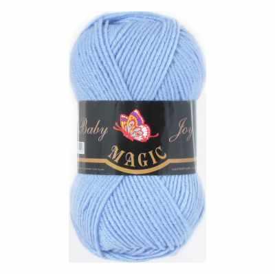 Пряжа Magic Пряжа Magic Baby Joy Цвет.5711 Голубой
