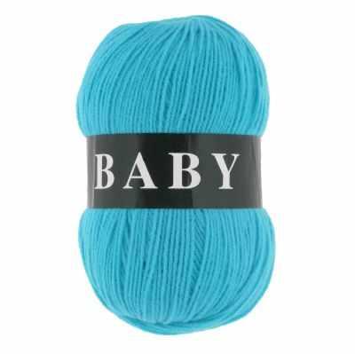 Пряжа VITA Пряжа VITA Baby Цвет.2864 Голубая бирюза