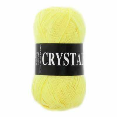 Пряжа VITA Пряжа VITA Crystal Цвет.5655 Желтый