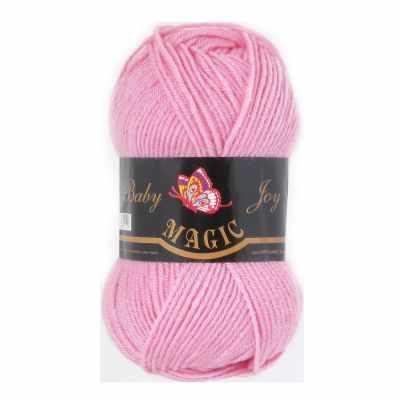 Пряжа Magic Пряжа Magic Baby Joy Цвет.5717 Розовый