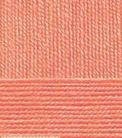 Пряжа Пехорка Пряжа Пехорка Австралийский меринос Цвет.351 Светло-коралловый