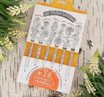 2703615 Растущие карандаши  Цветочный карнавал  - Наборы для выращивания растений