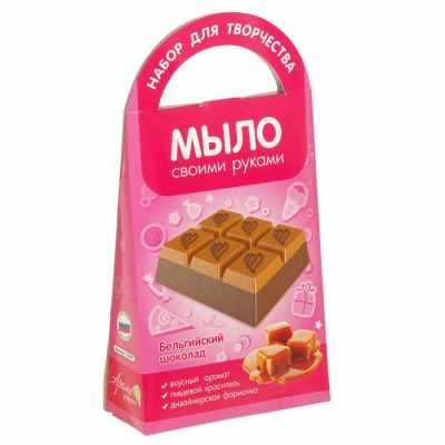 2360594 Мыло своими руками Бельгийский шоколад