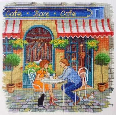 Фото - Набор для вышивания Марья искусница 11.005.04 Уличное кафе (МИ) набор для вышивания марья искусница 11 002 25 зима