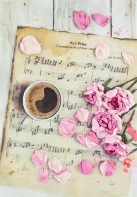 Набор для вышивания Panna JK-2115 Розы на нотах никерк д розы из шелковых лент и органзы объемная вышивка