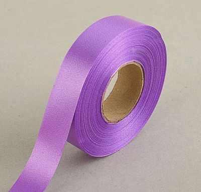1593750 Лента для декора и подарков, светло-фиолетовая