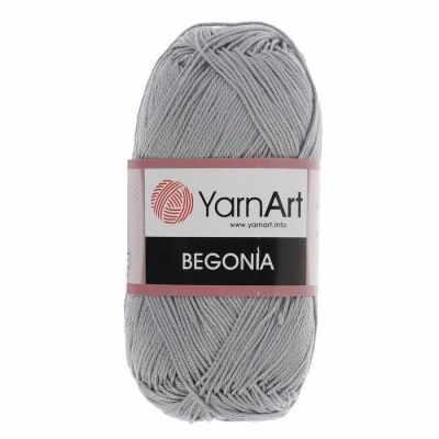 Пряжа YarnArt Пряжа YarnArt Begonia Цвет.5326 Стальной