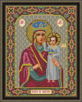 И 065 Икона Божией Матери  Призри на смирение   набор (Galla Collection) - Наборы для вышивания икон бисером «Galla Collection»