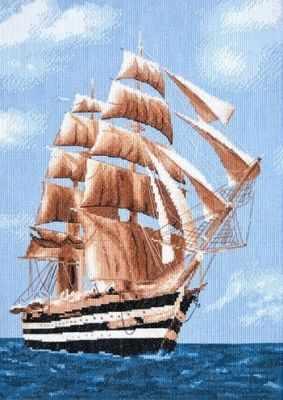 965  Морское путешествие  - Наборы для вышивания крестиком «HobbyPro»