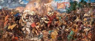 В-060382 Битва при Грюнвальде, 600 деталей - Пазлы