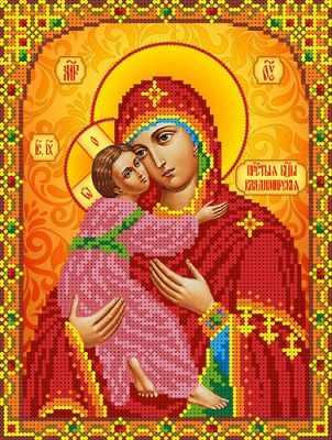 КБИН(ч) 5078 Б.М.Владимирская  набор (Каролинка) - Наборы для вышивания «Каролинка»