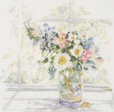 Набор для вышивания Lanarte PN-0168743 Bouquet of Flowers