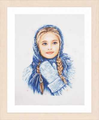 Набор для вышивания Lanarte PN-0169674 Winter Girl