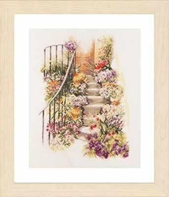 PN-0169680 Flower Stairs (Lanarte) - Наборы для вышивания «Lanarte»