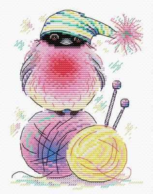 Набор для вышивания МП Студия М-282 Пернатый клубок набор для вышивания мп студия м 238 пять минут до весны