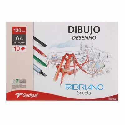 1801511 Бумага для графики  210*267 Fabriano Dibujo Desenho
