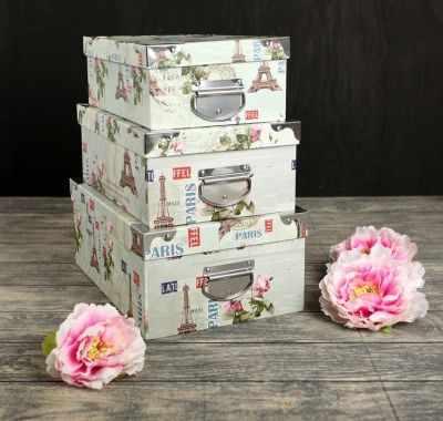 2854514 Набор коробок 3в1  Франция  - Подарочные коробки