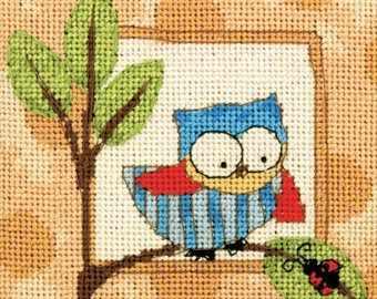 7239-DMS Любопытная сова - Наборы для вышивания «Dimensions»