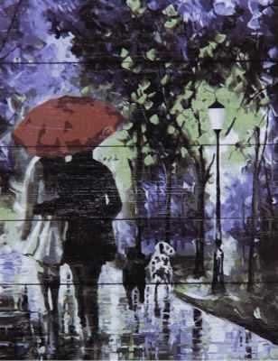 Раскраска по номерам DALI WS042 Теплая прогулка