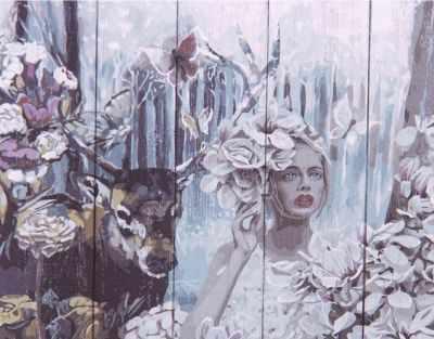 Раскраска по номерам DALI WS054 Наедине с природой