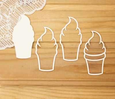 """арт.Шр-73 Шейкер """"Мороженое в рожке"""""""