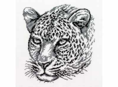 186-14 Леопард (Белоснежка) - Наборы для вышивания «Белоснежка»