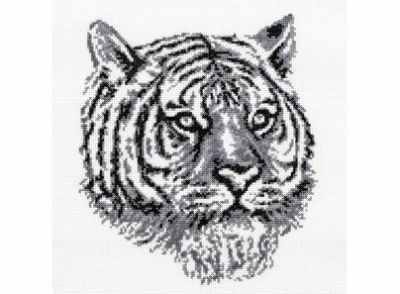 187-14 Тигр (Белоснежка) - Наборы для вышивания «Белоснежка»