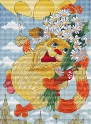 191-14 День рождения (Белоснежка) - Наборы для вышивания «Белоснежка»