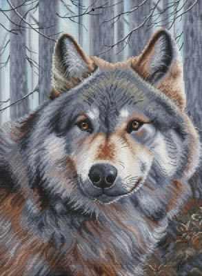 200-14 Волк (Белоснежка) - Наборы для вышивания «Белоснежка»