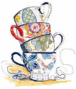 Набор для вышивания Овен 1034 Чайная коллекция чайная пара narumi silk