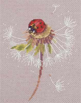 Фото - Набор для вышивания Panna PS-7034 Мгновения лета. Божья коровка набор для вышивания panna ps 1615 осенний венок