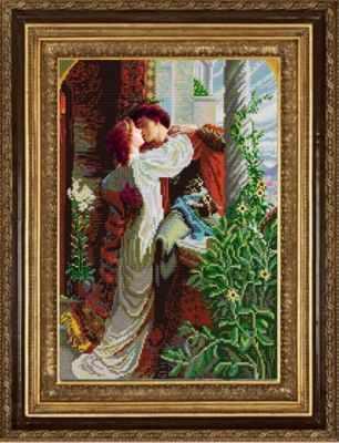 НИК 9999  Ромео и Джульетта   рисунок на ткани - Рисунок на ткани «Конёк» (схемы для вышивания)