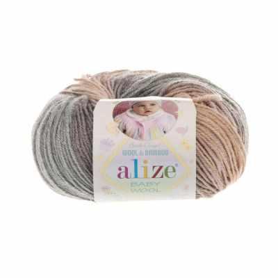 Пряжа Alize Пряжа Alize Baby Wool Batik Цвет.4726 Секционный