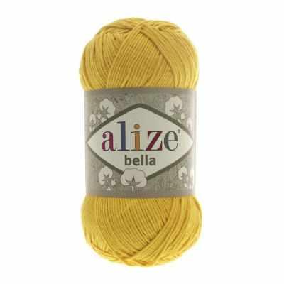 Пряжа Alize Пряжа Alize Bella Цвет.488 Желтый